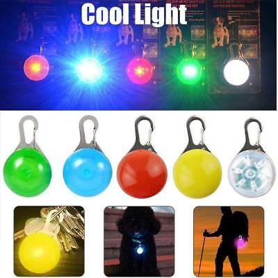 Clip-on LED Lights Night Safety Flashing Lamp for Cycling Walking Dog Cat Collar