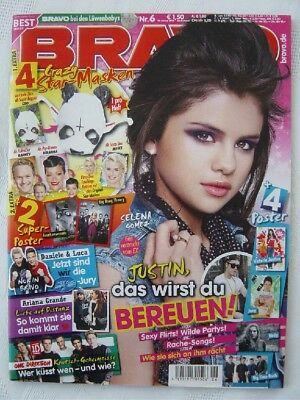 BRAVO 6 2013 Selena Gomez Big Bang Theory Birdy Big Time Rush Victoria Justice