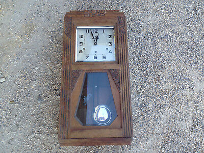 Ancien carillon VEDETTE 8 Marteaux 8 Tiges Mouvement Mécanisme french clock n°42