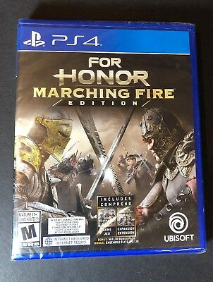 For Honor [ Marching Fire Edition ]  (PS4) NEW