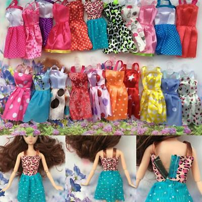 Beautiful Handmade Fashion Clothes Dress For Doll Cute Lovely Decor  Gift