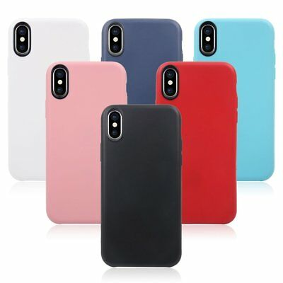 Luxury Ultra Slim Shockproof Hybrid Silicone 360 Case Cover for iPhone X HA