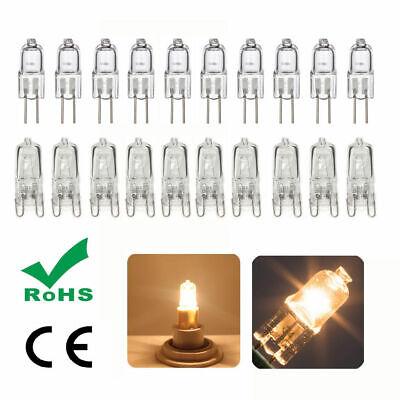 G9 G4 25W 40W 60W 10W 20W 12V Halogen Capsule Bulbs Warm White Lights ROHS & CE