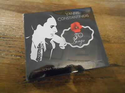 CD Ethno Yannis Constantinidis - 30 Songs (30 Song) THE HUMAN VOICE digi OVP