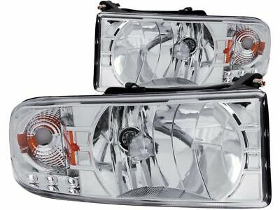 Headlight Set For 1994-2002 Dodge Ram 3500 2000 1996 1995 2001 1998 1997 Q186TH