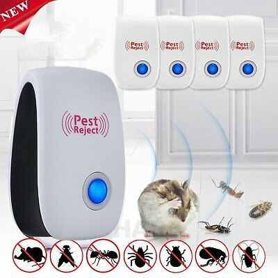 Pest Repeller-Ultrasonic-Electronic Mouse Rat Mosquito Insect Rodent Control SM