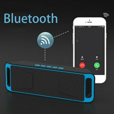 Wireless SC208 Bluetooth 4.0 Speaker Stereo Subwoofer Support FM TF LOT RE BY
