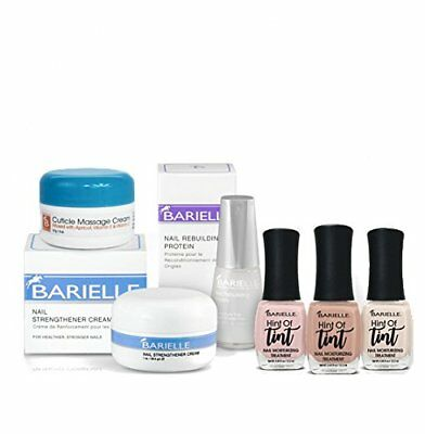 Barielle Nail Rebound and Color Kit - 6 Piece Nail Treatment & Color Set