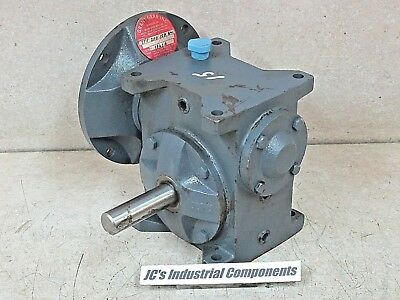 Baldor / Grant Gear   15:1 Ratio   Speed Reducer   STF 200 15AA   56C   605 In.