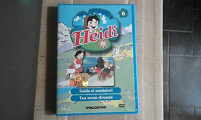 DVD-SERIE TV-HEIDI-VOL n 6-2 EPISODI-DE AGOSTINI-EDITORIALE