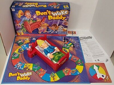 Don't Wake Daddy Board Game 00455 Hasbro 2001 Complete English Spanish