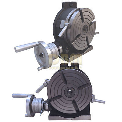 """NEW 8"""" Precision Horizontal Vertical HV Rotary Table Vise Milling Drilling Vice"""