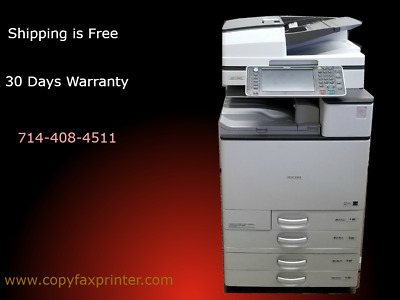 Ricoh Aficio MP C4503 Color Copier. Low Meter Free Shipping