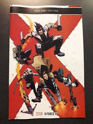 X-FORCE 1:10 Zaffino Variant Comic Book Marvel NM First Print 2018 @