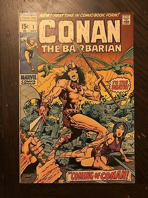 CONAN THE BARBARIAN #1 (Marvel) 1970 IN VF/NM CONDITION!