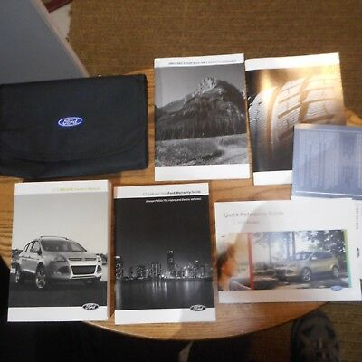 2013 ford escape owners manual