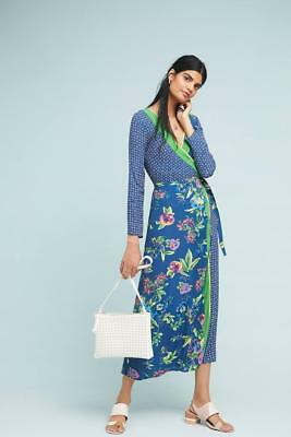 c970bf5dad0d NEW Anthropologie Floral Asama Wrap Dress by Seen Worn Kept Size 12 (Orig.   208