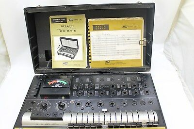B&k 747 Dynascan Dyna-Jet Solid Dynamic Mutual Conductance Tube Tester