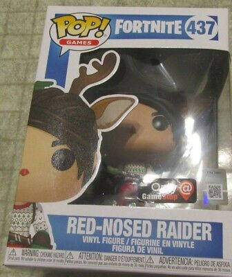 Fortnite Funko Pops Red Nosed Raider 437 GS exclusive free shipping in hand