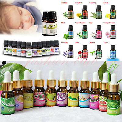 Aromatherapy Essential Oils 100% Natural Pure Essential Oil 37+ Fragrances 10ml