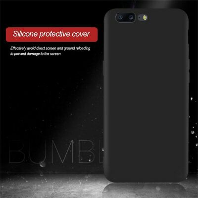 Frosted Protective Back Cover Case Soft Silicone Phone Case For Oneplus5 A5000SR