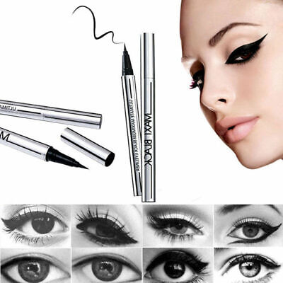 Beauty Black Waterproof Eyeliner Liquid Eye Liner Pen Pencil Makeup Cosmetic US