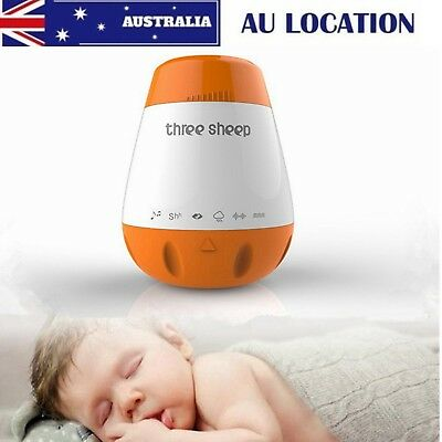 Mini Kids Baby Sleep Machine White Noise Therapy Solution 6 Nature Peace Sounds