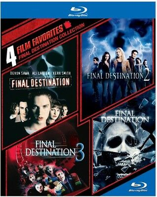4 Film Favorites: Final Destination Collection (Blu-ray Used Very Good)