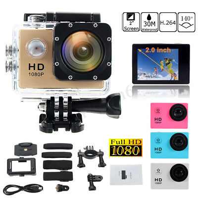 SJ4000 12MP Waterproof Sport Video Camera HD 1080P Action Camcorder Cam DV