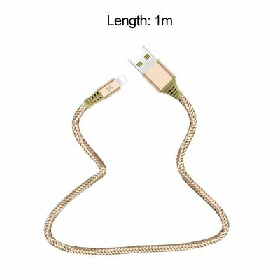 Nylon Braided Wire Metal Plug Data Sync Cable Fast Charging Cable for iPhoIL