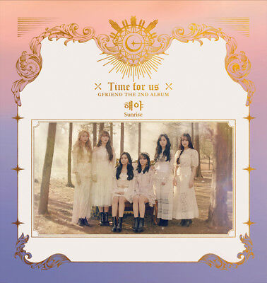 GFRIEND [TIME FOR US] 2nd Album 3Ver SET 3CD+3ea Photo Book+12Card K-POP SEALED