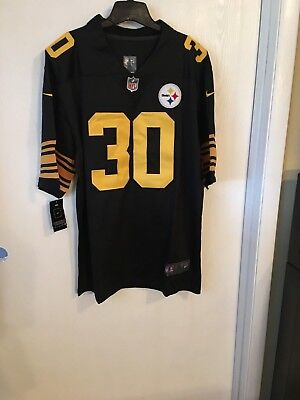 b91573b65b2 PITTSBURGH STEELERS # 30 James Conner Color Rush Jersey XXXL ...
