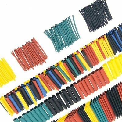328 Pcs Heat Shrinkable tube  Polyolefin Insulation 2:1 Wrap Wire Cable Sleeve