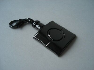 YSL  beaute VIP gift charm  Black Opium  pendant with  lobster clasp  lock