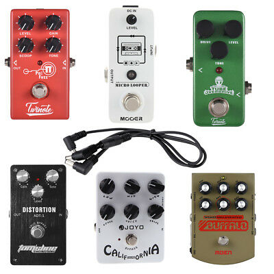 Fuzz/Overdrive/Simulator/Loop Recording/Distortion Guitar Effect Pedal R5L6