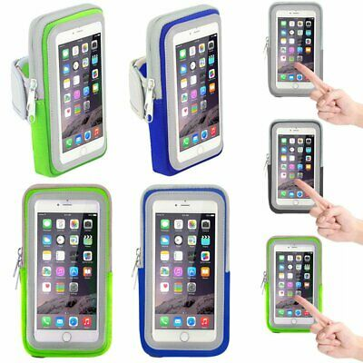 Sport Jogging Gym Arm Band Strap Touch Screen Holder Case Bag For iPhone 8 KA
