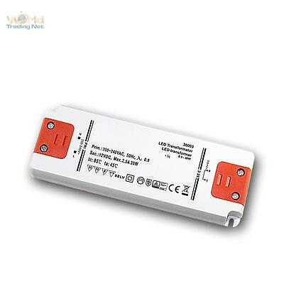 Led Transformateur Slim 12V Dc , 0-30W, IP20, pour Led, Ballast, Pilote, Driver