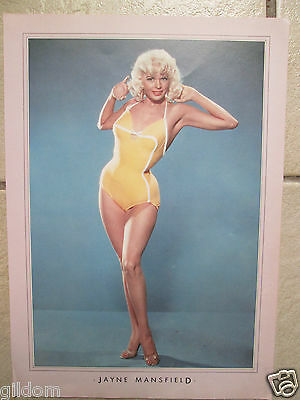 Jayne Mansfield / Photo Poster Pin Up Image