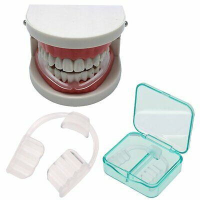 Dental Mouth Guard Bruxism Splint Night Teeth Tooth Sleep Grinding Mouthguard KA