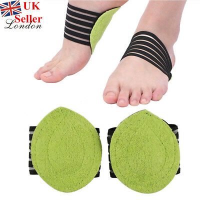 Foot Arch Plantar Support Brace Cushion Fasciitis Fallen Arches Aid Anti-strain