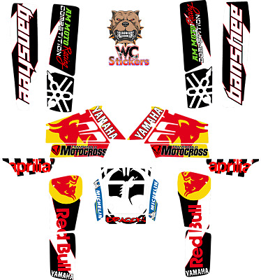 Yamaha Banshee 350 full graphics kit sticker decals