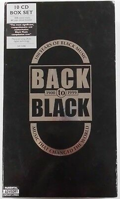 100 Years of Black Music - Back To Black 1900-1999 [10 Box Set CD, 2001]