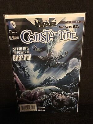 Constantine issue 5 NM DC New 52 Trinity War