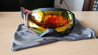 6fed759c654 Wedze ski   snowboard goggles. Mirrored and adjustable. Adult size. Unisex.