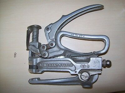 Vintage Acme Hand Stitch Tool GE 2  Used MADE IN THE USA..