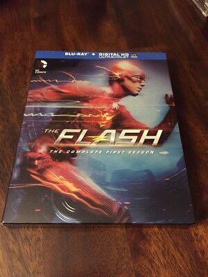 The Flash The Complete First Season Blu Ray