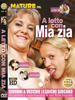 Dvd Mature Nl A Letto Con Mia Zia In Bed With My Aunt