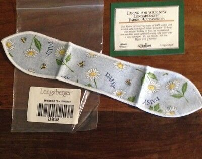 Longaberger #2368068 Small Daisy Handle Tie 1999 Bee New in Package