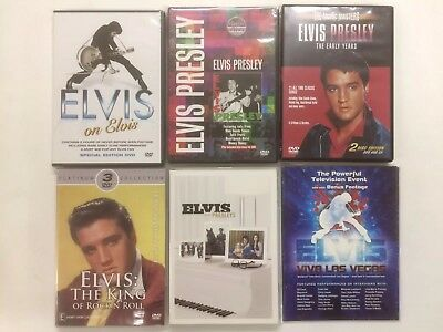 Elvis Presley  (DVD) LOT OF 6-ALBUM SET