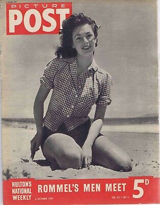 Picture Post magazine 6 October 1951, The First Kiss, American in Paris